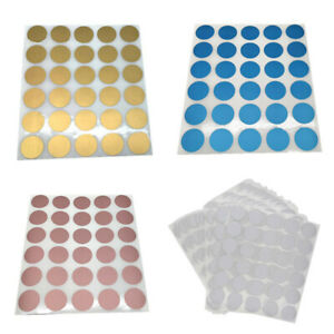 30pcs Round Scratch Off Stickers Labels Tickets Promotional Games Favors 25*25mm
