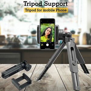 Mobile Phone Camera Stand Holder 360 Adjustment Tripod Support For Apple iPhone