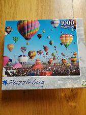 New Sealed Puzzlebug Albuquerque Balloon Fiesta 1000 Pc Puzzle NEW