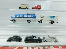 AZ480-0,5# 7x Praline H0 (1:87) Modell: MB 507 D+O 3500+170+300+Fiat+DKW etc