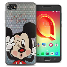 Coque Housse Silicone TPU Ultra-Fine Mickey Mouse pour Alcatel A5 LED 5.2""