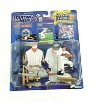 1998 Mint on C6- Card. Classic Doubles Starting Lineup Baseball NY/'s JETER and ORDONEZ Action Figures by Kenner