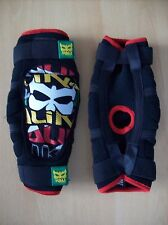 Guards Kali Veda Rasta BMX Elbow Protectors Size Medium New in Mesh Packaging
