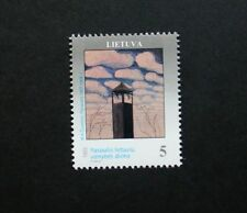 World unity day and transatlantic flight stamps, 1993, Lithuania, Ref: 534 & 535
