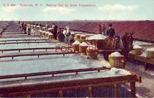 SYRACUSE, N.Y. MAKING SALT BY SOLAR EVAPORATION