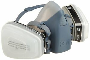 3M 52764 Professional Paint Respirator, 7500 Series, Small