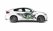 TRIBAL DRAGON EYE SIDES GRAPHIC VINYL DECAL FOR CAR