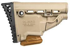 GL-MAG SRP FAB Defense Desert Tan Butt Stock w/ 5.56/223 Magazine Carrier IDF