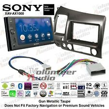Sony XAV-AX1000 Car Stereo Radio Dash Install Mount Kit