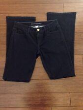 Women's BANANA REPUBLIC Dark Wash Flare Jeans - Size 26