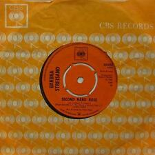"Vinilo Barbra Streisand (7"") segunda mano Rose-CBS-202025-UK-Ex/Ex"
