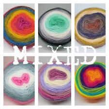Pack Of 6 MIXED - Mandala Yarn 150g Cake wool knitting crochet DK gradient