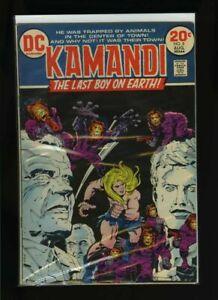 Kamandi, the Last Boy on Earth #8 G/VG 1973 DC Jack Kirby Comic Book