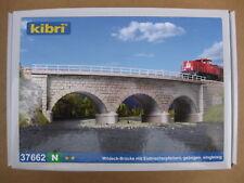 Kibri - ref.37662 - Puente de piedra en curva 45º (R=220-228.5 mm)