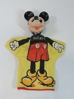 VTG Walt Disney Productions Mickey Mouse Hand Puppet Character Gund WDP 621 60's
