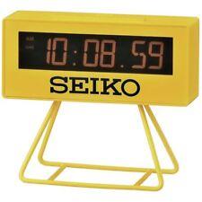 Seiko compte à rebours Style Sports Timing Horloge-jaune (Model No. QHL062Y)