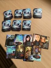 146 Torchwood Trading Cards including 9 Shinies - Mint- Unsorted