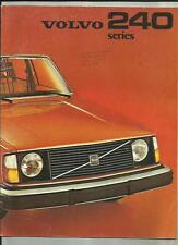 VOLVO 244DL, 245DL AND 244GL SALES BROCHURE 1975