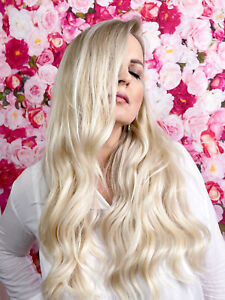 """RUSSIAN Luxury Quality 100% Remy Human Hair Tape in Extensions 20"""""""