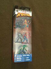 Marvel Comics Spider-Man Mini Action 5 Exclusive Figures Nano Metalfics NEW MIP