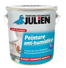 PEINTURE 2.5L ANTI HUMIDITE JULIEN TOUS SUPPORTS EVITE SALPETRE CLOQUAGE AUREOLE