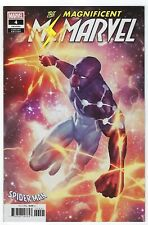 Magnificent MS Marvel # 4 Cosmic Spider-Man Suit Variant Cover Marvel NM