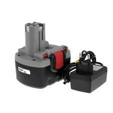 Akku für Bosch Bohrschrauber PSR  VE-2 O-Pack Li-Ion inkl. Ladegerät 14,4V 200