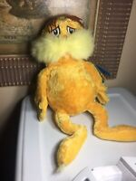 "2005 Kohl's Cares For Kids Plush ~ 16"" Dr. Seuss LORAX Stuffed Animal ~ NWT"