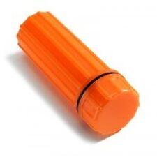 Waterproof Match Case Orange Box w Fire Flint Coghlan's Camping Survival Hunting