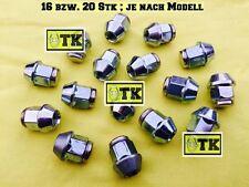 Opel Tuerca de la Rueda Juego Cromo M12x1,5 Oldtimer Youngtimer Cih OHV