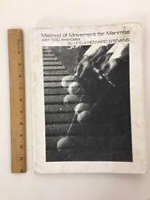 New ListingMethod of Movement for Marimba with 590 Exercises, by Leigh Howard Stevens