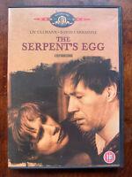 The Serpent's Egg DVD 1977 Ingmar Bergman's Post World War I Berlino Classic