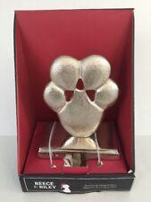 NEW CHRISTMAS STOCKING HOLDER CAT DOG PAW PRINT PET HANGER Heavy Duty
