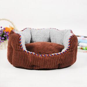 HOOPET Haustier Schlafinsel für Katzen und Hunde, Schlafenbett aus Lammkaschmir