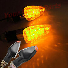 4 Pcs Motorcycle 14 LED DC 12V 4W Turn Signals Flasher Light Sport Racing Bike U