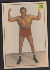 1955 Parkhurst Wrestling #28 Jim Goon Henry
