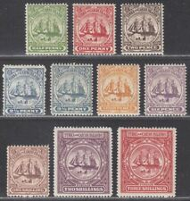 Turks and Caicos Islands 1900 QV Badge Set Mint SG101-109 cat £130