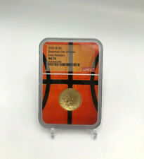 🌟2020-W $5 Basketball Hall of Fame Gold UNC Coin NGC MS70 ER Basketball Core