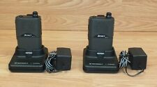 Motorola P23srf03f2ba 2 Way Radios With Docking Stations Amp Power Supplies