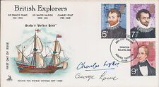 EVEREST George LOWE & Charles WYLIE SIGNED FDC AFTAL Autograph COA Explorer