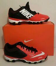 Nike Vapor Shark Football Cleats Orange/Black 643162-018 Sz 9.5