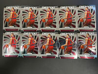 10 Card Lot: 2019-20 Prizm Basketball Rookie Dylan Windler Emergent Cavaliers RC