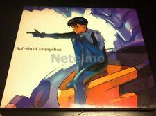 New 0001 EVA Neon Genesis Evangelion REFRAIN OF EVANGELION CD soundtrack MICA