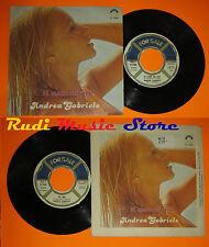 LP 45 7'' ANDREA GABRIELE Ti amo di piu'Tu sei 1979 italy FOR SALE cd mc dvd