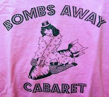BOMBS AWAY CABARET Pirate Booty High Skirts Risque Business PINK SMALL SHIRT