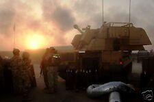"AS90 Gun Royal Horse Artillery Basra British Army 2008 Iraq War Photo 12x8"""