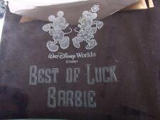 Walt Disney Arribas Mickey and Minnie Best of Luck Barbie RARE HTF