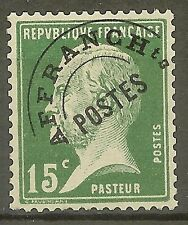 "FRANCE STAMP TIMBRE PREOBLITERE N° 65 "" PASTEUR 15c VERT"" NEUF xx SUP"