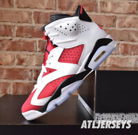 2021 Nike Air Jordan 6 Retro Carmine GS Men CT8529-106