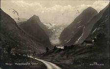 Olden Norwegen Norge Melkevoldsbrae 1927 gelaufen nach Berlin Gletscher Glacier
